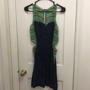 Rachel Rachel Roy Green Dress Size 2